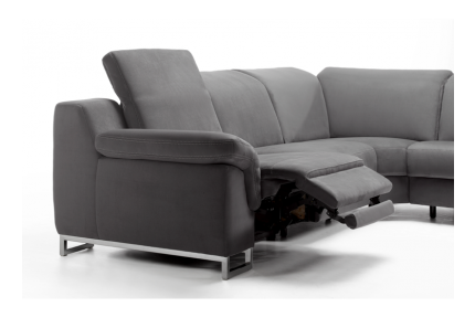 Rom Apollon Custom Electric Recliner Sofa Adjustable