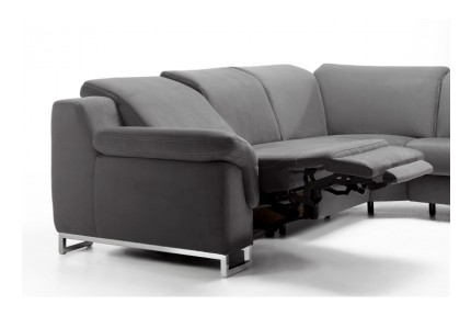 ROM Apollon contemporary recliner sofa