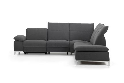 ROM Chronos fabric recliner sofa