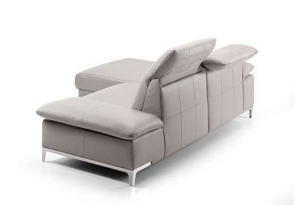 ROM Chronos leather sofa