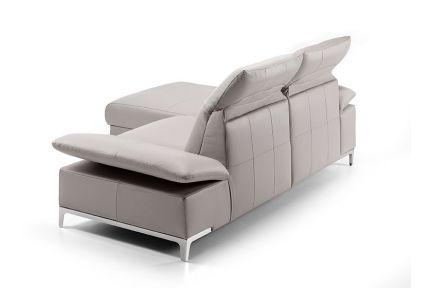 ROM Chronos sofa with adjustable armrests