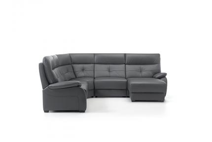 ROM Florac corner sofa recliner