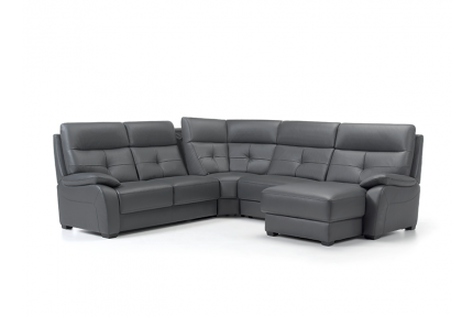 ROM Florac corner sofa, hidden storage