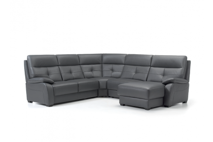 ROM Florac electric corner sofa