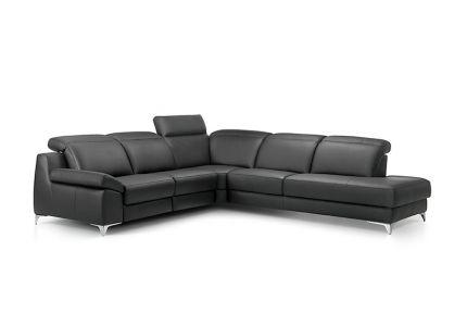 ROM Levana leather recliner sofa