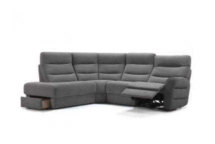 ROM Montfort sofa recliner with storage
