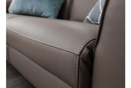 ROM Triton sofa stitching detail