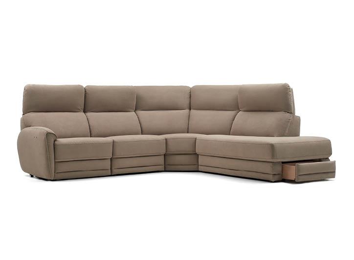 Bellevue High Back Corner Sofa From Rom Uk, Corner Sofa With High Back