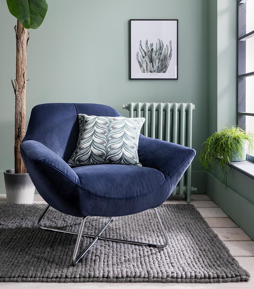 Rico contemporary armchair