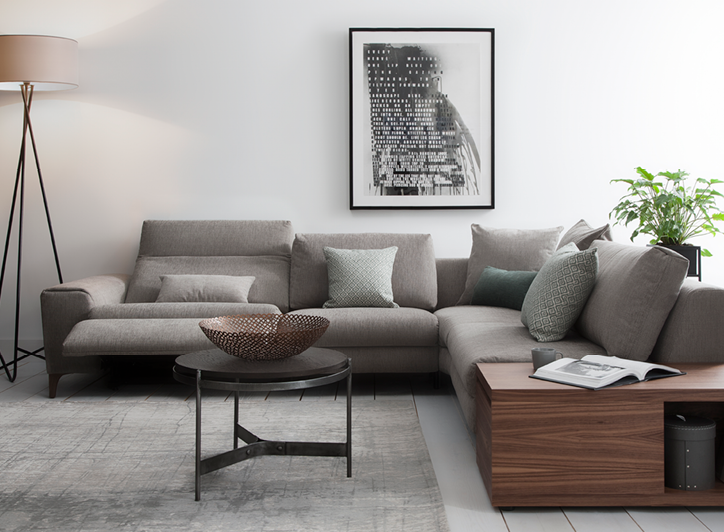 ROM Donato | Customisable Electric Recliner Corner Sofa Range